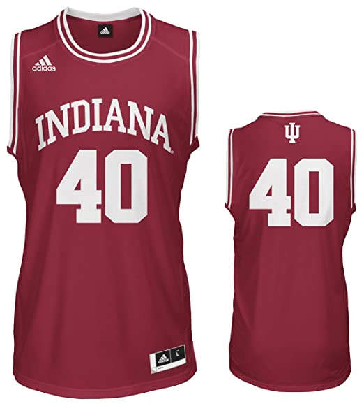 d6ce6bd862f adidas Indiana Hoosiers Cody Zeller  40 Youth Replica Basketball Jersey  (YTH Small)