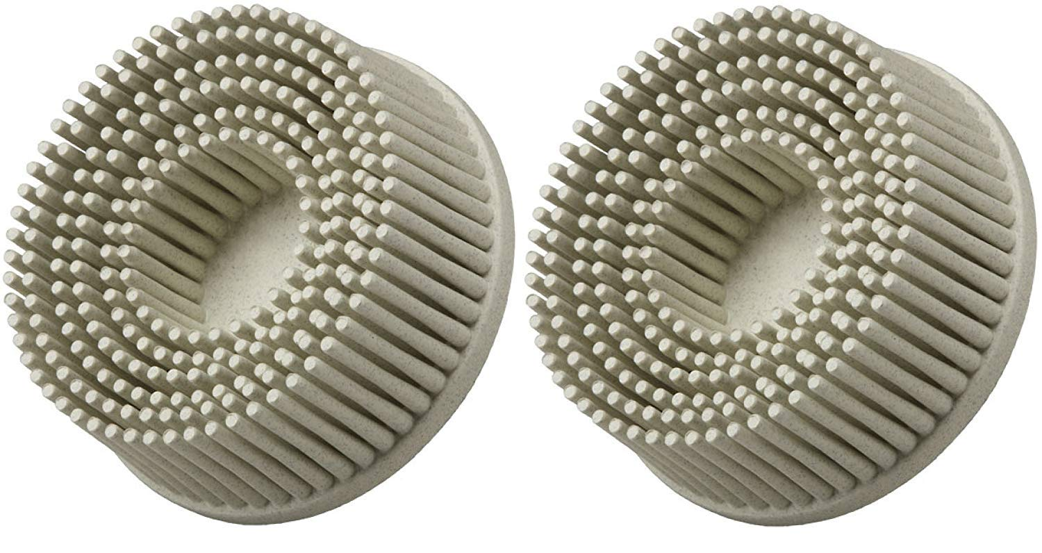 3M-18733 Roloc Bristle Disc Grade - 120, Size - 2 (Pack of 2)
