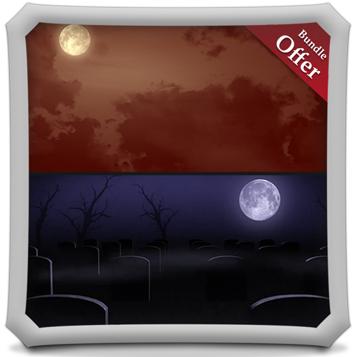 Scary MoonLights HD - FREE Wallpaper & (Halloween 13 Spooky Apps)
