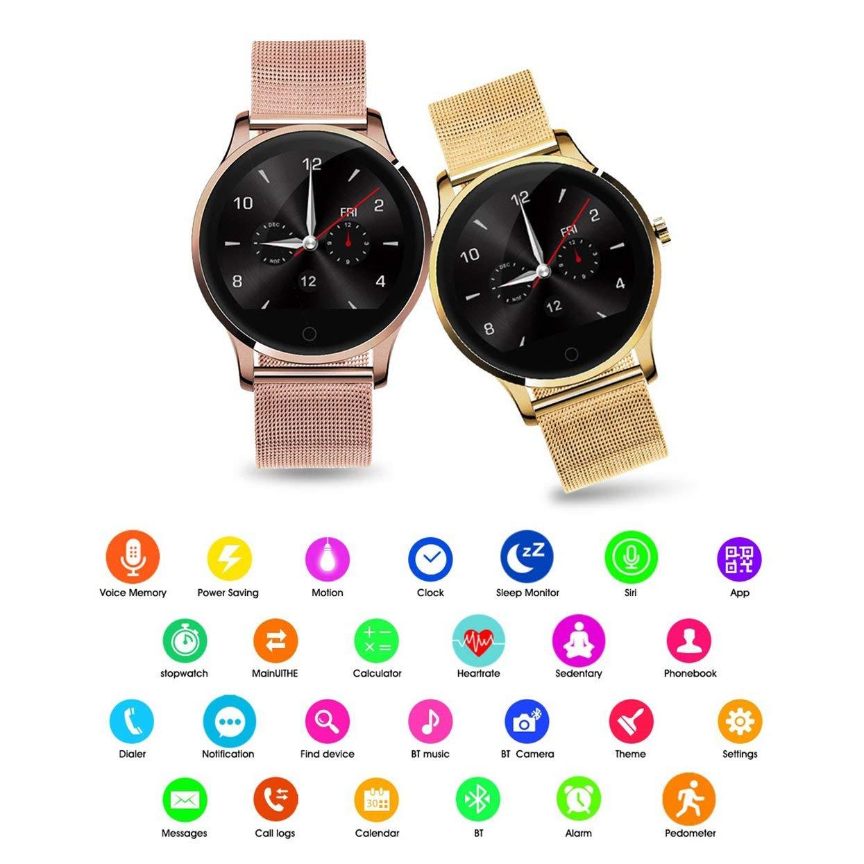 K88H Smart Watch Tracker Reloj Bluetooth Reloj Monitor de ...