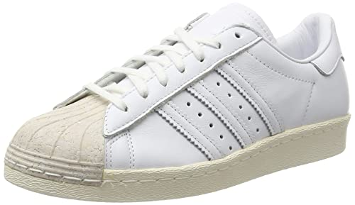 meet 22255 b959b adidas Superstar 80S Cork, Scarpe da Ginnastica Basse Donna, Bianco  Footwear off White,