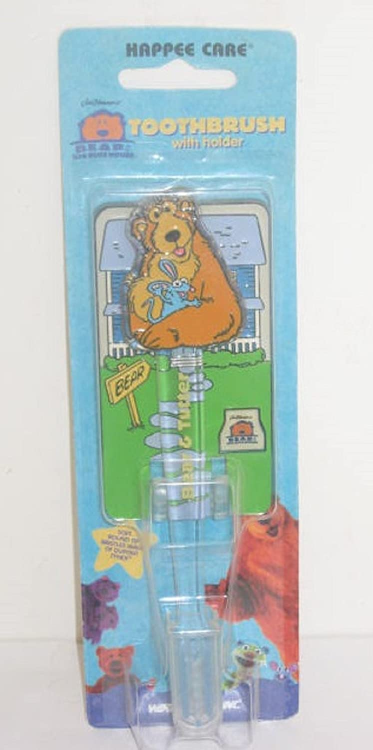 Bear in the Big Blue House Toothbrush and Holder - Bear with Tutter WorldTrend Inc 4332396271