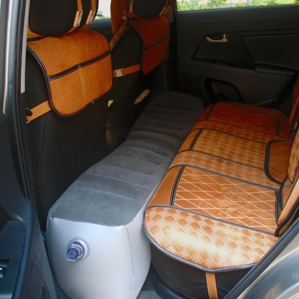 Poggiapiedi aereo Qkiss Poggiapiedi gonfiabile da viaggio pinne gonfiabili portatili accessori da viaggio Grey Cuscino da viaggio cuscino per bambini