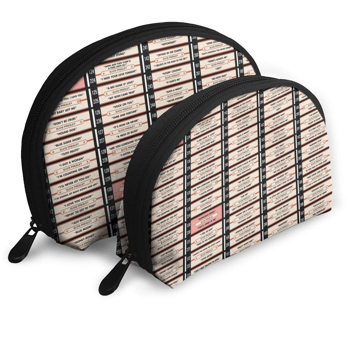 Amazon.com  Music Retro Radio Dj Records Pop Cosmetic Bags Portable Travel  Makeup Organizer Clutch Bag  Home   Kitchen 77fa4a249450d