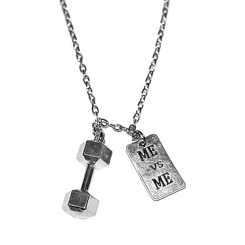 Amazon.com: El original Me VS Me collar por Santa Monica ...