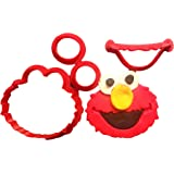 Elmo Face Cookie Cutter Set (3 inches)