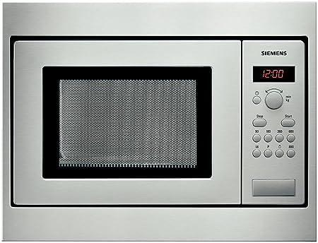 Siemens HF15M551, 1270 W, 230 V, 10 A, Acero Inoxidable, 453 ...