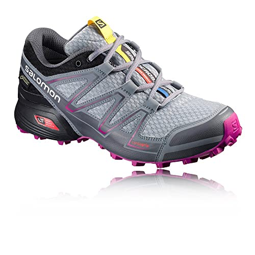 17d12be2 Salomon Speedcross Vario Gore-Tex Women's Trail Running Shoes Grey
