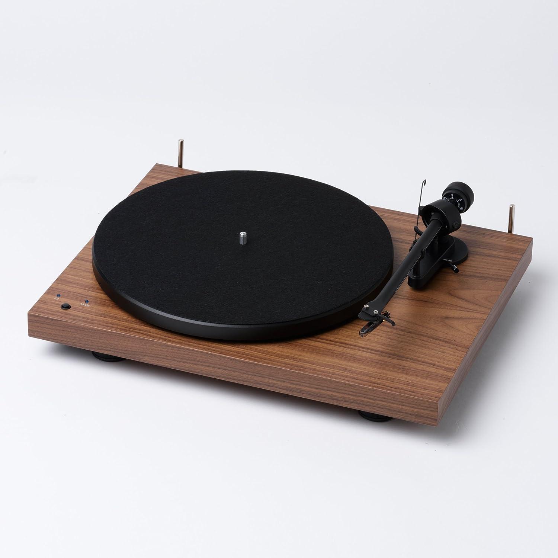 Amazon.com: Pro-Ject Debut Recordmaster tocadiscos de nogal ...