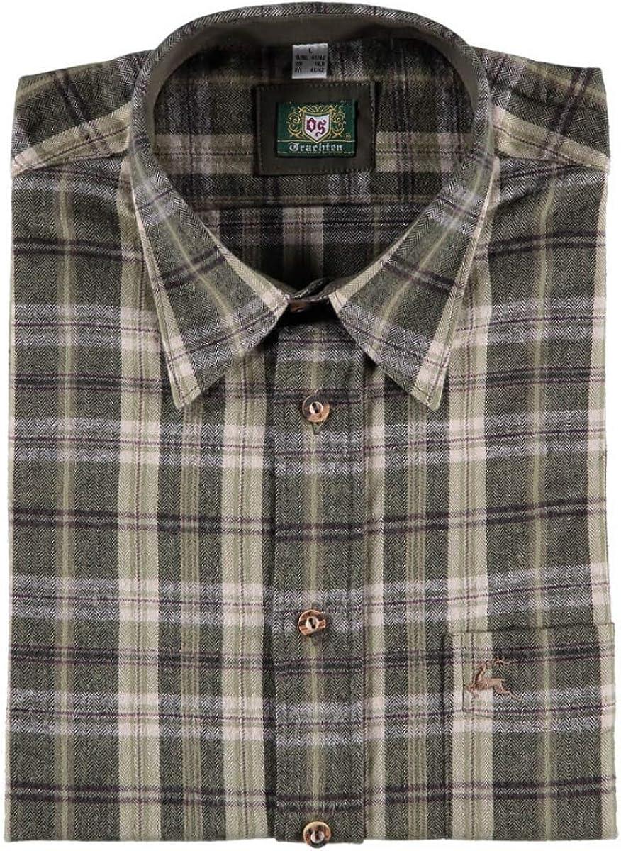 Orbis 420000-2821/55 - Camisa de franela para hombre, color ...