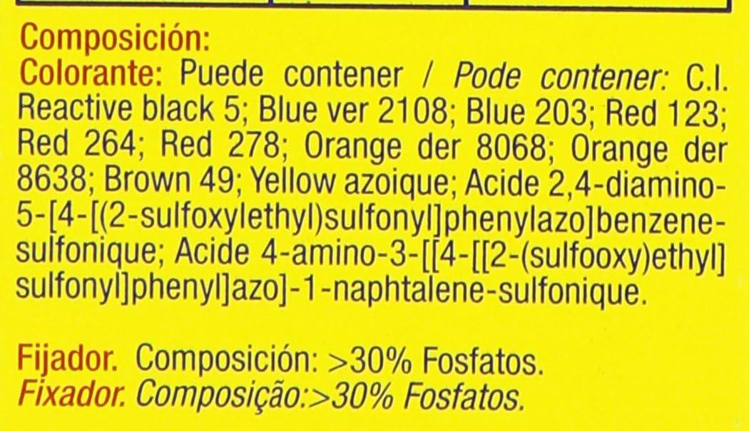 Iberia - Tinte Nº 30 caqui, cambia el color 40º - 2 sobres x 10 g + fijador x 50 g - [Pack de 6]