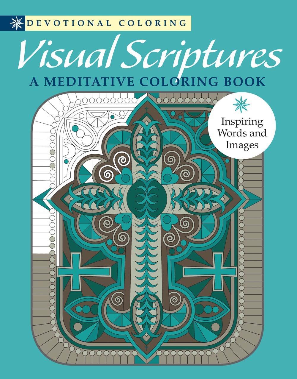 Visual Scriptures: A Meditative Coloring Book (Devotional Coloring ...