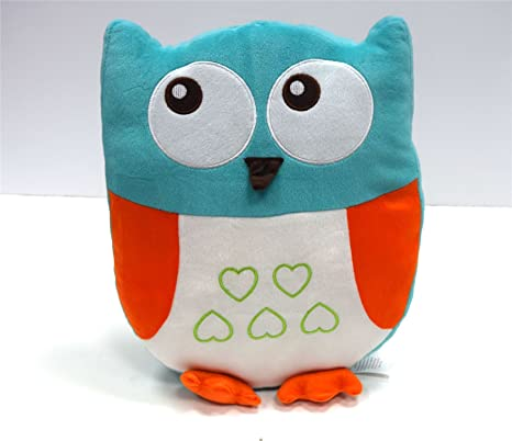 Amazon.com: Childrens Cute Owl Shaped Azul Animales Lujo ...