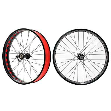 b976f3f157f Image Unavailable. Image not available for. Color  Stars Rim Fat Snow Bike  Wheelset for Shimano 8 9 ...