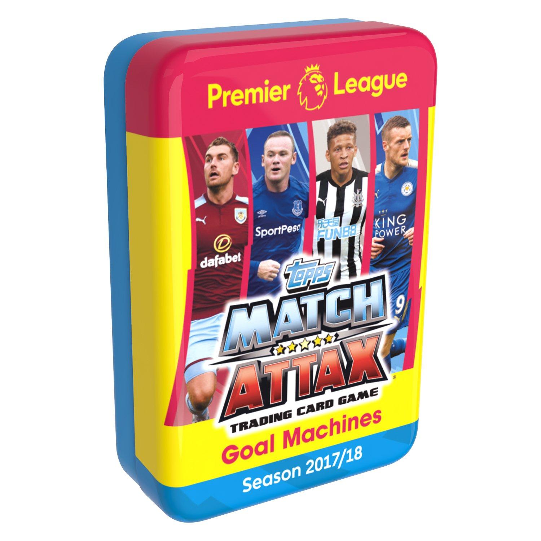 Match Attax EPL MA1718P - Juego de Cartas coleccionables de la Temporada 2017 / 2018 de la