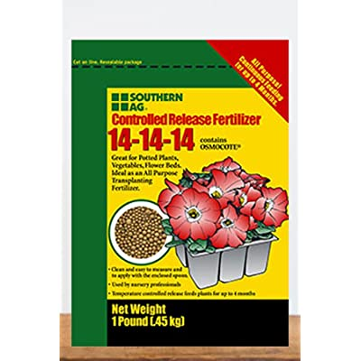 Nessagro Southern AG Controlled Release Fertilizer 14-14-14, Contains OSMOCOTE, (1 Pound) .#GH45843 3468-T34562FD63926 : Garden & Outdoor