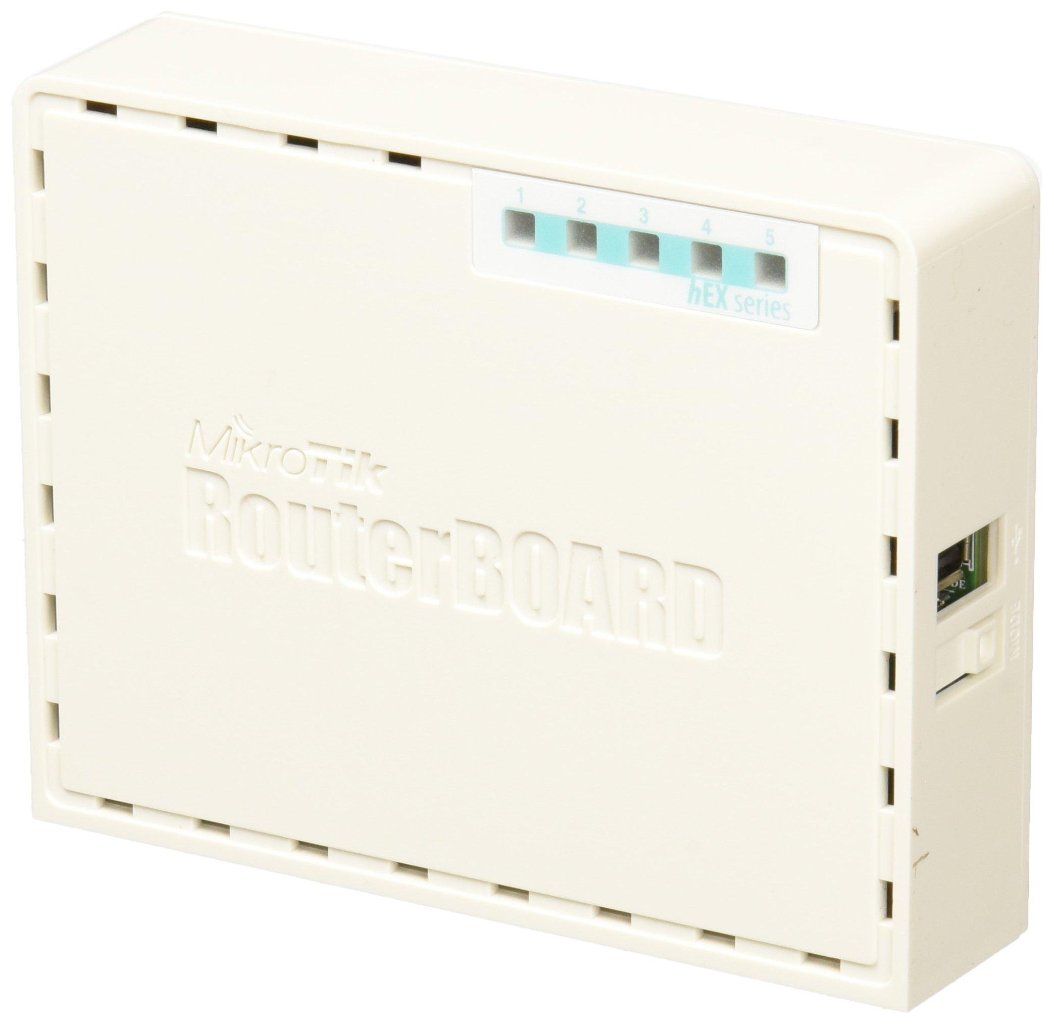 Mikrotik RB750GR3 - Router (10,100,1000 Mbit/s, 10/100/