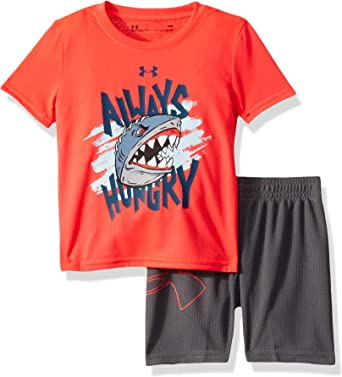 Under Armour Baby Boys Short Sleeve Tee and Pant Set