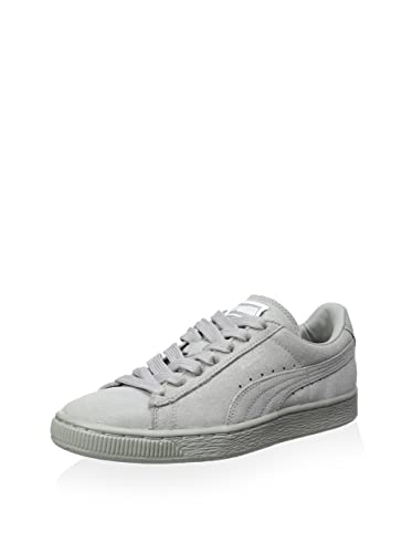 newest collection sneakers on feet images of Buy Puma Women's Suede Classic + Matte & Shine Sneaker Grey 6. 5 M ...