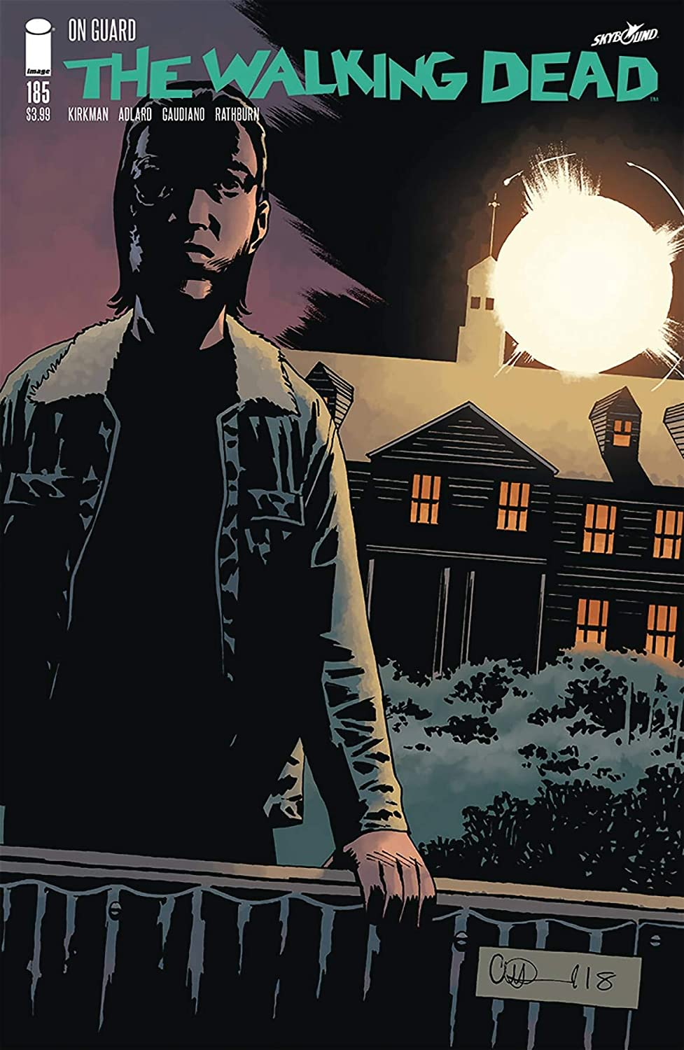 Walking Dead #187 Main Cover STOCK PHOTO Image 2019