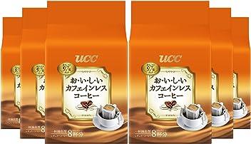 UCC おいしいカフェインレスコーヒー ドリップコーヒー (8P×6袋) 48杯