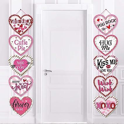 Amazon Com Valentine S Day Heart Banner For Conversation