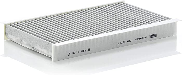 Mann-Filter CUK 2747 Cabin Filter With Activated Charcoal for select Land Rover models