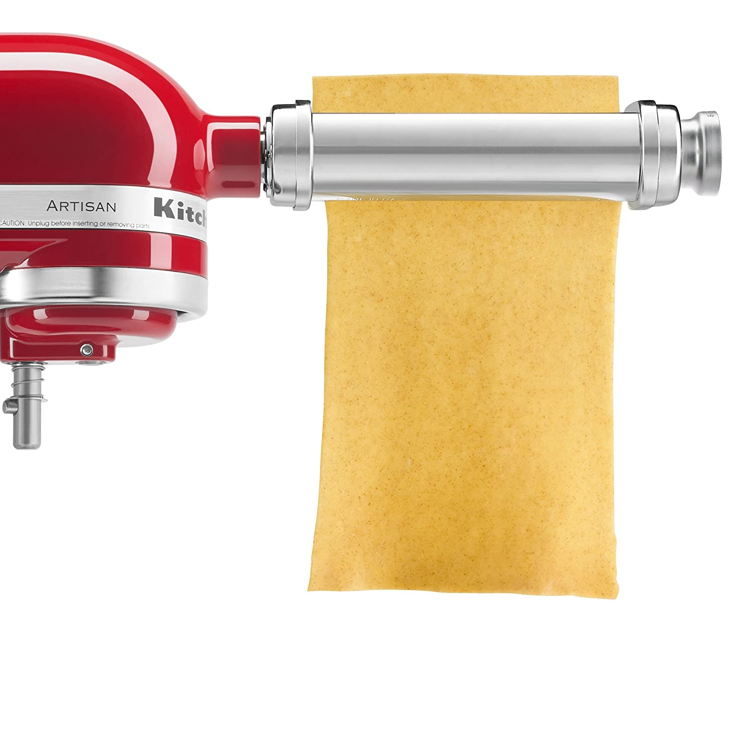 Amazon.com: KitchenAid KSMPRA 3-Piece Pasta Roller & Cutter ...