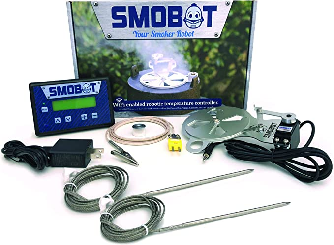 SMOBOT Kamado Grill and Smoker Temperature Controller - Robotic Damper