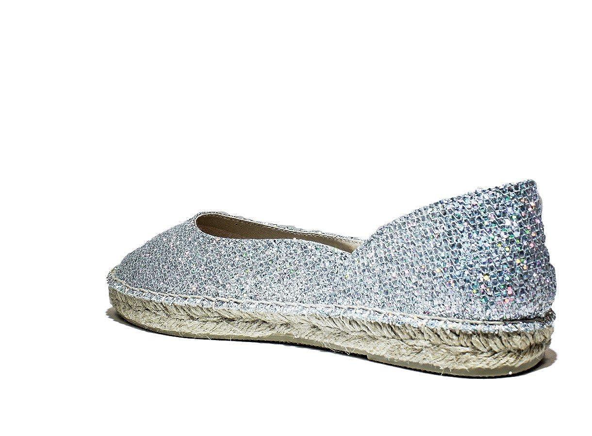 VIGUERA 90006101 Bailarina Zapatos de la señora Botas reducido, la Nueva colección Primavera-Verano 2016 la Tela de Plata: Amazon.es: Zapatos y complementos