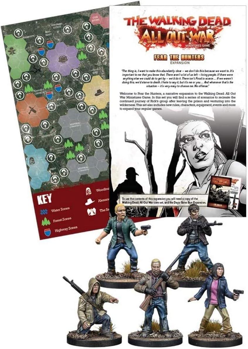 2 Tomatoes Games- The Walking Dead - Expansión Miedo a los Cazadores, Multicolor (5060469663005): Amazon.es: Juguetes y juegos
