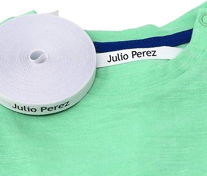 100 Etiquetas personalizadas para nombre. Etiquetas de tela con ...