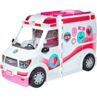 Barbie Ambulanza, Trasformabile in Clinica Mobile con Tanti Accessori, FRM19
