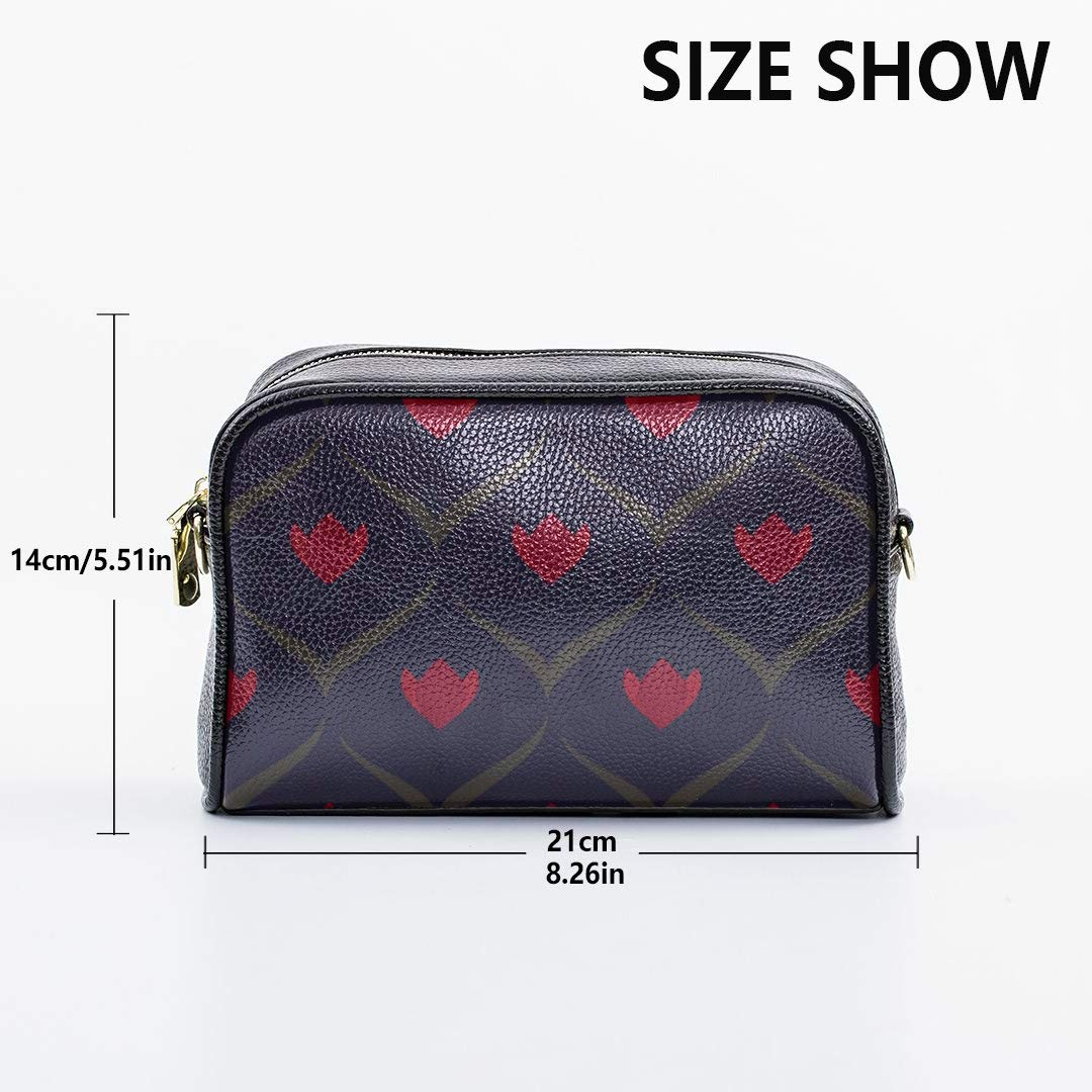 Ancient Flower Geometry Mens Messenger Crossbody Bag Unique Handbags For Women With Adjustable Long Strap Men Fashion Travel Bag Mens Business Shoulder Bag Handbag Accessories