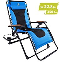 Timber Ridge Zero Gravity Patio Rocking Lounge Chair
