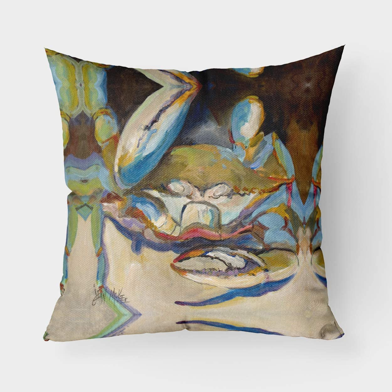 Caroline's Treasures OFFer JMK1257PW1818 Three OFFicial mail order Big Claw Canvas Fa Crab