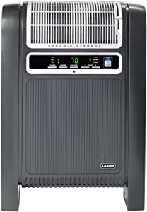 Lasko 1500 Watt Electric Cyclonic Ceramic Heater with Ionizer and Remote Control