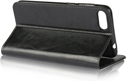 Jaorty ZC520KL Schutzhulle fur Asus ZenFone 4 Max 5 2 Zoll 13 2 cm hochwertiges Leder Klappetui mit Standfunktion Kartenfachern Geldfach Schwarz