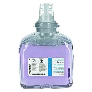 PROVON 538502 Foam Handwash w/Advanced Moisturizers, Cranberry, 1200mL Refill (Case of 2)