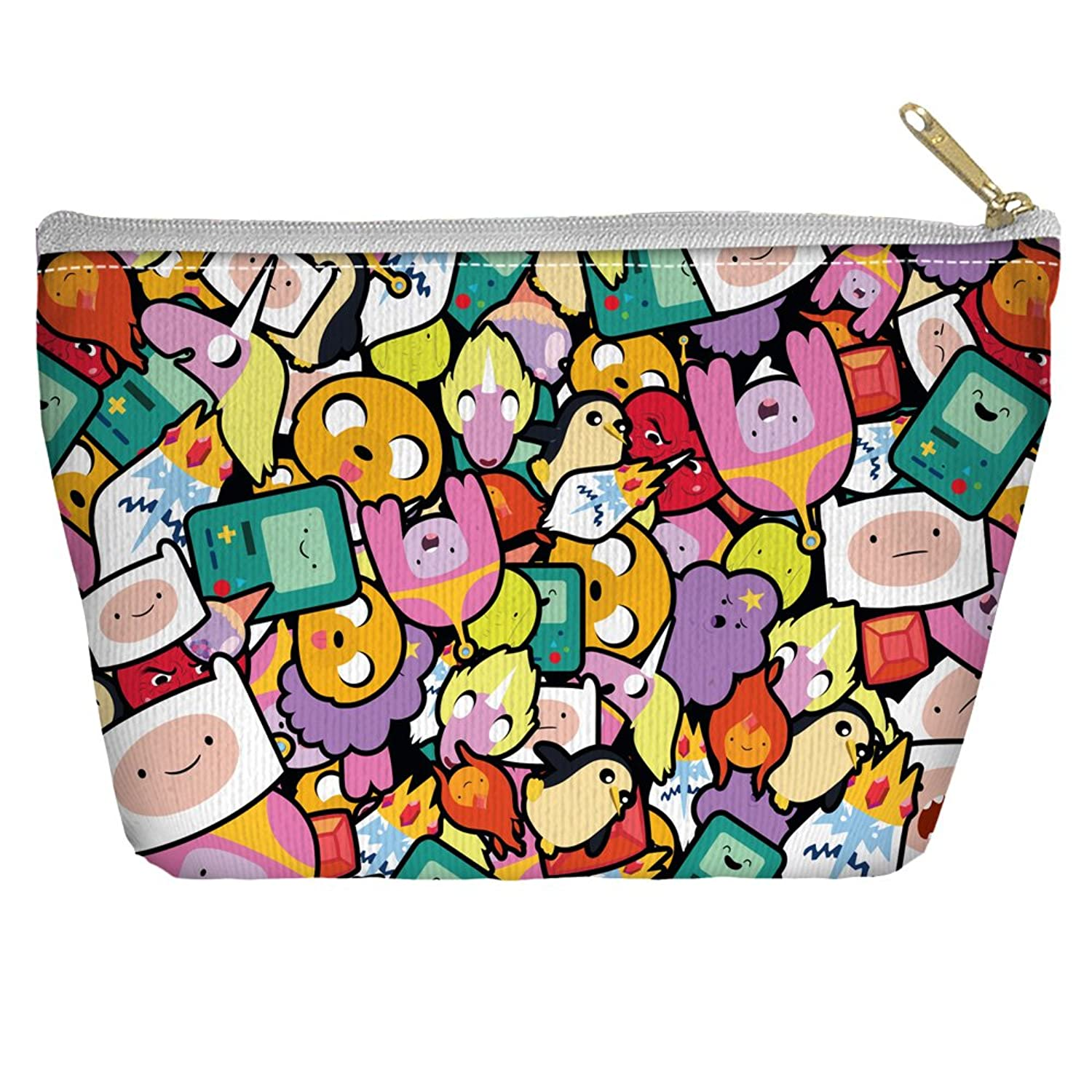 Adventure Time Stacked Stickers Accessory Pouch