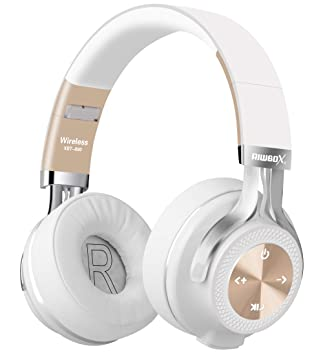 Riwbox XBT-880 - Auriculares inalámbricos Bluetooth para iPhone, iPad, PC, teléfonos