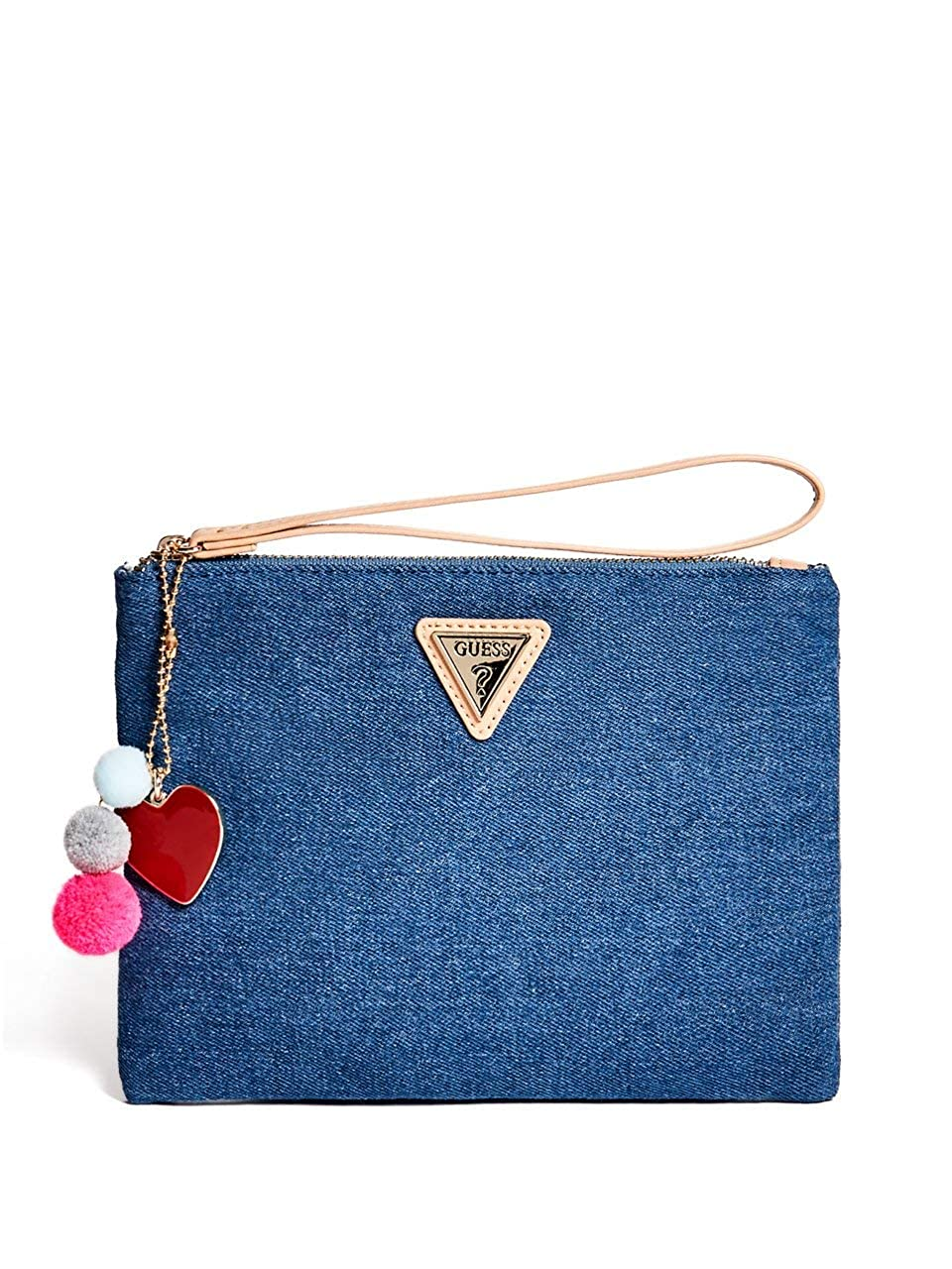 Amazon.com: Guess Factory Mujer merina Pom Wristlet, NS ...