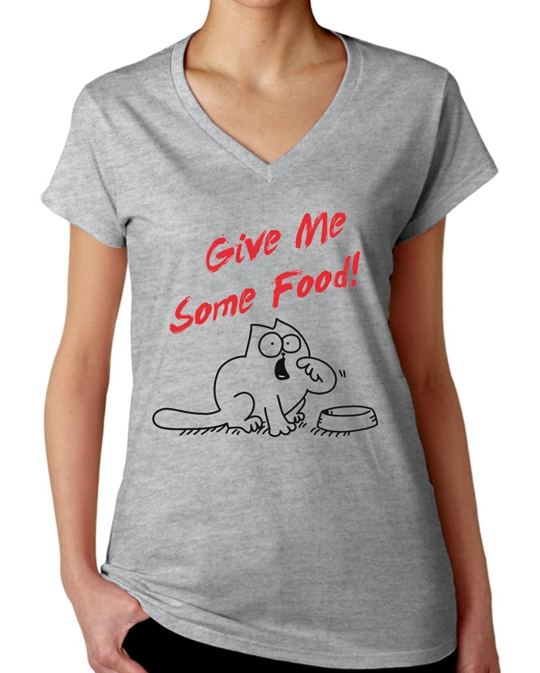 Simon's Cat - Give Me Some Food T-Shirt