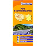 Michelin Map France: Paris and Surrounding Areas MH514 1:200K (Maps/Regional (Michelin)) (English and French Edition)
