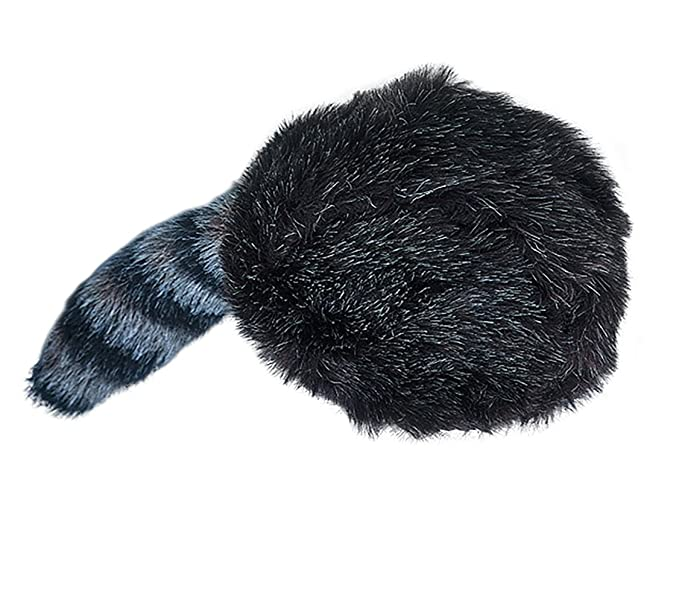 Amazon.com  Raccoon Coonskin Cap Hat Davy Crockett Daniel Boone Pioneer  Frontier Man Costume  Clothing 8cbeecd27940