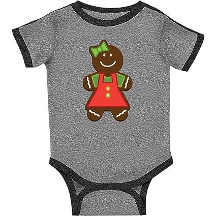 inktastic I Love Gingerbread Christmas Holiday Long Sleeve Creeper