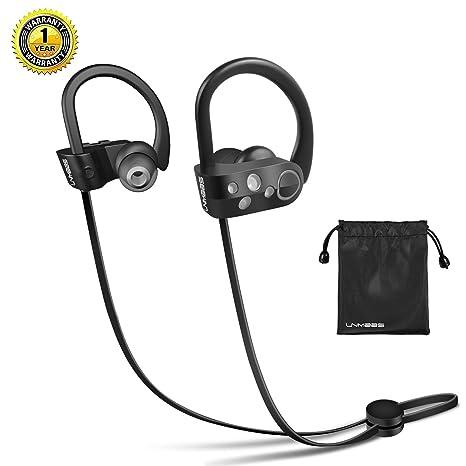 Cuffie Bluetooth Senza Fili - LNMBBS Auricolari Bluetooth 4.1 Sportive  Headset Stereo (IPX5 ef7ef1dcf254