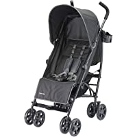 Lightweight Stroller Foldable Infant Umbrella Travel Stroller (Black)