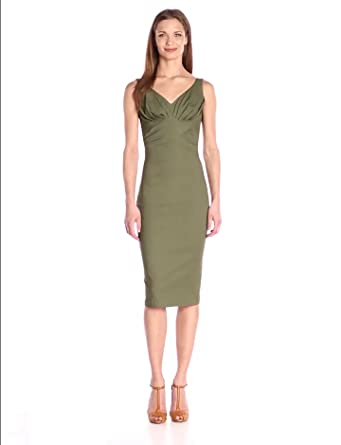 Amazon.com: Stop Staring Women's Maeve Fitted Dress: Clothing