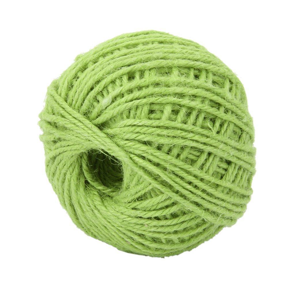 AK SSI Wrap Cadeau ruban de corde de chanvre Ficelle Corde Cordon Corde Boule DIY Crafts Bouteille en verre d/écoratifs Corde 1/PC 50M blanc